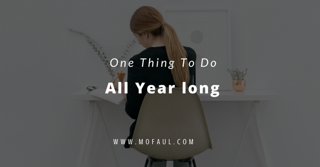 One Thing To Do All year Long (1)