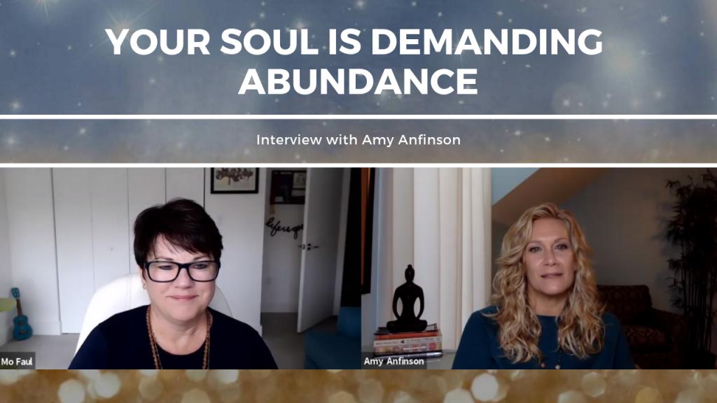 your soul is demanding abundance